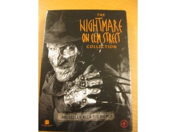THE NIGHTMARE ON ELM STREET COLLECTION 1-7 - ALLA 7 FILMERNA - DVD