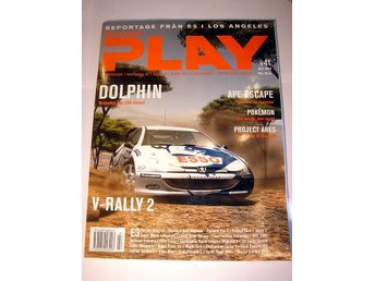 SUPER PLAY   HELT NY  JULI 1999  V-RALLY 2  !!!!!
