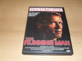 Dvd-film: The running man (Arnold Schwarzenegger)
