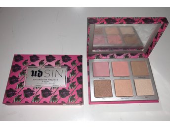 Urban Decay Sin after Glow palette 8H wear Blush&Highlighter palette OANVÄNT