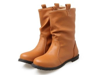 Dam Boots Mujer New High Quality Footwear Shoes Yellow 42