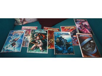 Masters of the Universe Vol 3 Nr 1-8 (hela serien) MVCreations 2004