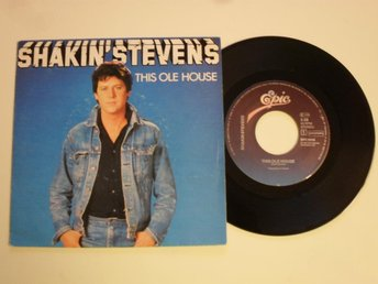"SHAKIN' STEVENS - THIS OLE HOUSE (Epic 7"" 1981 Holland)"