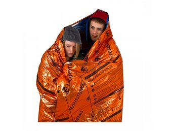 värmereflekterande filt för 2 LIFESYSTEMS HEATSHIELD THERMAL BLANKET - DOUBLE