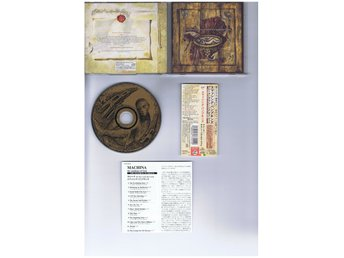 THE SMASHING PUMPKINS-Machina+1BT(Chicago hardrock kings!!)JAP CD