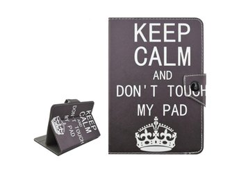 """Keep Calm And Don't Touch My Pad - Fodral till 7"""" Surfplatta - Finspång - Keep Calm And Don't Touch My Pad - Fodral till 7"""" Surfplatta - Finspång"""