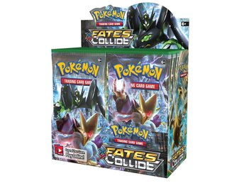 Pokemon XY10 Fates Collide Booster Display - Kortspel
