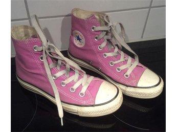 """Converse ljuslila strl 3 """"36"""" all star skor sko Converse all star - örnsköldsvik - Converse ljuslila strl 3 """"36"""" all star skor sko Converse all star - örnsköldsvik"""