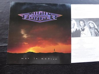 NIGHT RANGER - Man in motion  MCA Tyskland -88 LP