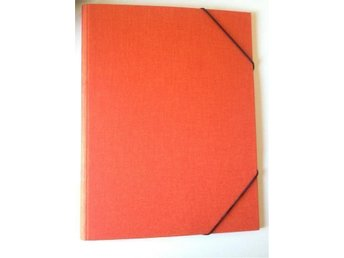 Vävmapp, A4, Orange, BOOKBINDERS DESIGN, No1