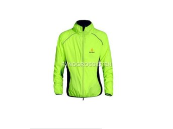 Cykeljacka Outdoor Cycling Jersey Grön Breathable Fri Frakt