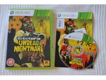 Red Dead Redemption Undead Nightmare Xbox 360 Komplett Fint