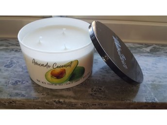 Bath & Body Works 3veks ljus Avocado Coconut