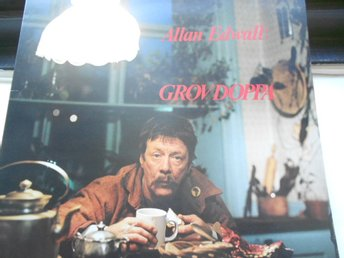 LP ALLAN EDWALL - GROVDOPPA 1979