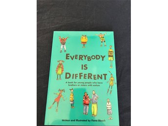 Everbody is different - En engelsk bok för barn med systrar eller bröder med aut