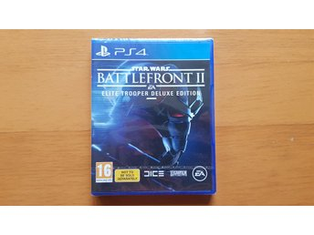 Star Wars: Battlefront 2, Deluxe Edition för PS4 (Inplastad)