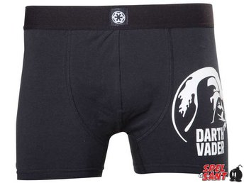 Star Wars Darth Vader Boxershorts Svart (Small)