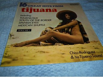 16 Great Hits From Tijuana Vol 1 (LP) Nude Sexy Cover VG+/EX