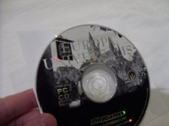 Europa Universalis PC CD ROM spel