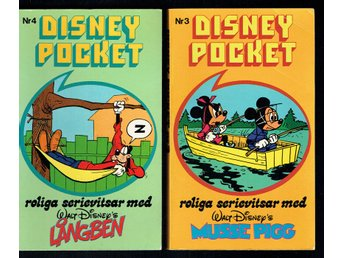 Disney pocket nummer 3 + 4