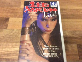 Lee Aaron live från London  VHS