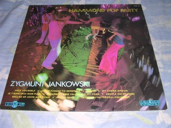 Jankowski - Hammond Pop Party (LP) Hammond Lounge EX/VG+
