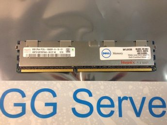 Dell 8GB DDR3 PC3L-10600R ECC RDIMM SNPTJ1DYC/8G