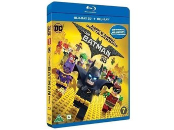 LEGO Batman Filmen / The LEGO Batman Movie (3D Blu-Ray)