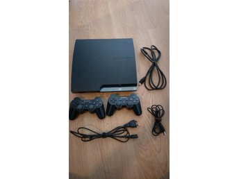 Playstation 3 Basenhet 120GB + 2 Kontroller