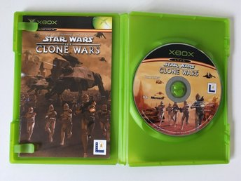 XBOX - Star Wars: The Clone Wars - Tv-Spel - Action, Shooter
