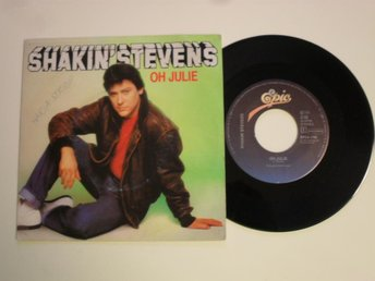 "SHAKIN' STEVENS - OH JULIE (Epic 7"" 1981 Holland)"
