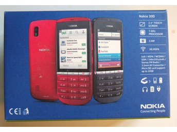 NOKIA 300 Touch and Type Mobiltelefon i nyskick