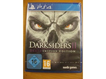 DARKSIDERS II : DEATH INITIVE EDITION - NYTT OCH INPLASTAT PS4 SPEL