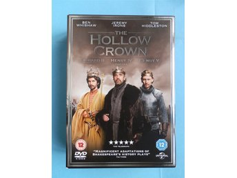 The Hollow Crown box i fint skick Engelsk utgåva/ text