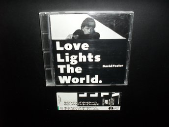 DAVID FOSTER - LOVE LIGHTS THE WORLD , MINI CD 4 TRACKS ,JAPAN (WITH OBI )