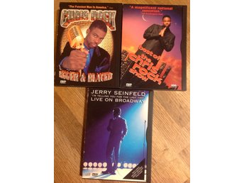 DVD - region 1 - Unrated stand-up! Chris Rock & Jerry Seinfeld - Snap-case!