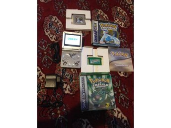 Game Boy Advance SP 101 version+ Pokemon Emeral   (357479229