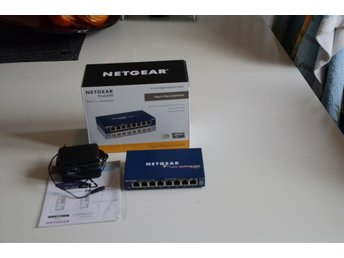Netgear FS108 10/100 fast ethernet swith 8 Port
