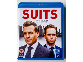 Suits - Säsong 5 - Blu ray  - Svensk text - som ny