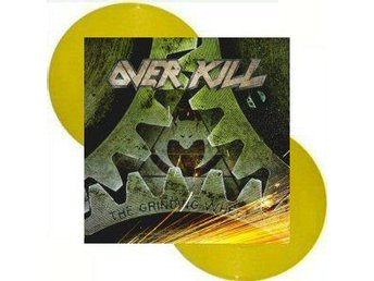 Overkill -The grinding wheel dlp yellow w/gatefold ltd 300