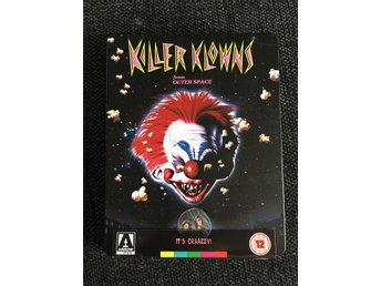 Killer klowns Blu-ray Steelbook Nyskick!