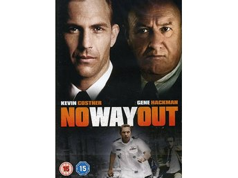 Ingen utväg - No way out.  Kevin Costner och Gene Hackman - Svensk text - Ny!