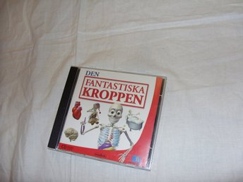 Den Fantastiska Kroppen Mac & PC CD ROM barn lek och lär spel retro