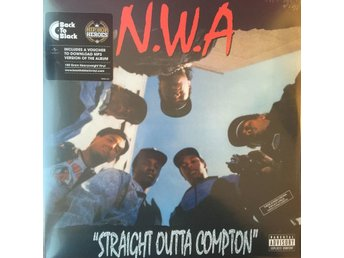 N.W.A. - STRAIGHT OUTTA COMPTON NY 180G LP MINT