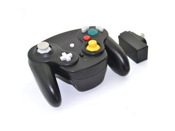 Wavebird 2.4GHZ Wireless Controller for Gamecube (Black) (Ny)
