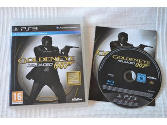 Goldeneye Reloaded 007 PS3 Playstation 3 Komplett Fint Skick