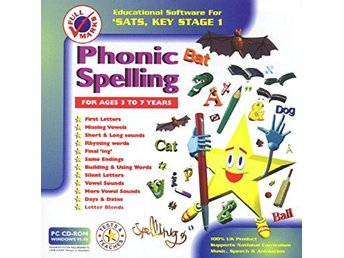 SATS Key Stage 1 - Phonic Spelling - PC Program