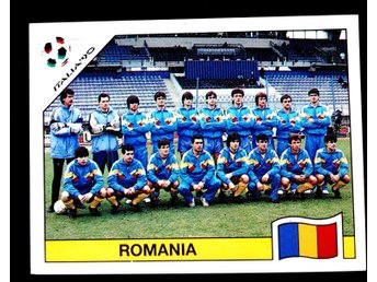 PANINIs  STICKERS - ITALY 90 -   ROMANIA   team.