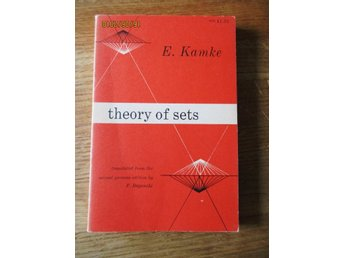 Kamke: Theory of sets 1950