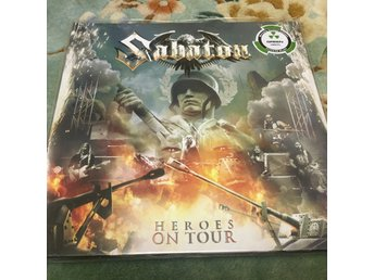Sabaton Heroes on Tour Green Vinyl
